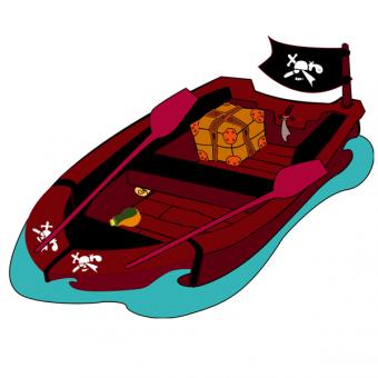 Sticker  Barque