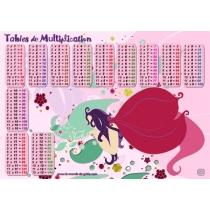 Set de bureau  Félicie la fée - tables de multiplications
