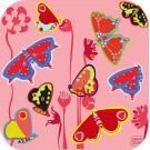 """Jeu de puzzle en bois """"Papillons"""""""