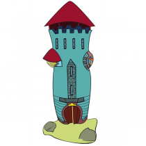 Sticker  Tour de Chevalier