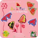 """Jeu de Pêche en bois """"Papillons"""""""