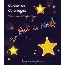 Cahier de Coloriages Lanuit de Noël