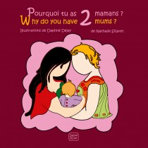 Pourquoi tu as 2 mamans ? Why do you have 2 mums ?